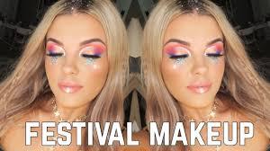Смотреть видео colourful festival inspired makeup tutorial jasmine hand