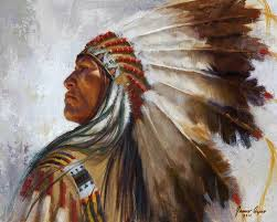 native american oil paintings process native american indian oil