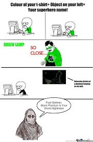 RMX] Green Lamp...so Close by arkterrus - Meme Center via Relatably.com