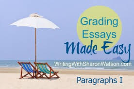 grading essays made easy  paragraphs in the body  writing with  grading essays thumbnail paragraphs