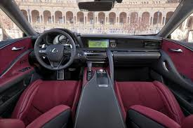 2018 lexus lc 500. fine 2018 the interior of the lexus lc 500 comes wrapped in premium leather inside 2018 lexus lc