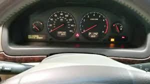 2001 Volvo S40 Service Light 00d4 Srs Airbag Service Urgent How To Clear Fault Volvo S80 S60 V70 Xc70 Xc90