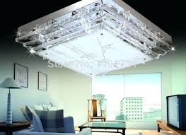 contemporary square led crystal chandeliers lamp home decoration image concept