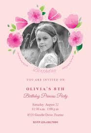 Girl Birthday Invitation Template Girls Birthday Invitation Templates Free Greetings Island