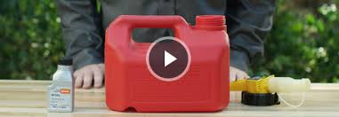 gas oil ratio mixture chart