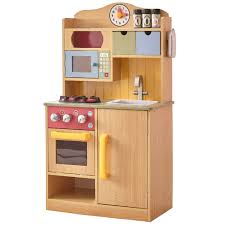 wooden toy play kitchen teamson kids little chef large