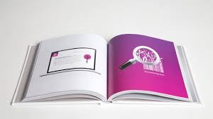 custom graphic design portfolio book