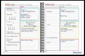 Sample Daily Agenda How I Use My Planner To Stay Organized 9
