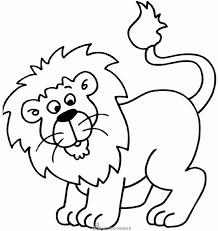 Kleurplaten Leeuwenkop