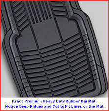 Kraco Auto Mats are found in over 15000 auto supply and other