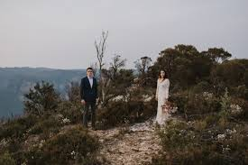243486 Ashley & Kyle's Romantic Blue Mountains Elopement Photographed by  Damien Milan Photography - Image Polka Dot Bride