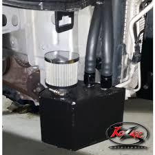 Kozmic K27 <b>Ralliart</b> Catch Can Kit - AK <b>Racing</b>
