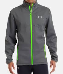 under armour jackets mens. graphite, zoomed image under armour jackets mens e