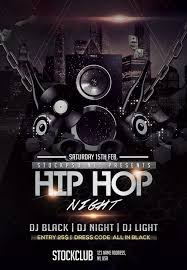 Free Party Flyer Templates Hip Hop Music Free Party Flyer Template Download For Photoshop