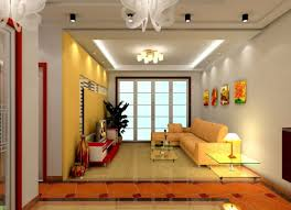 Living Room Light Design Modern Style Living Room With Fabric Sofa Gray 3d House