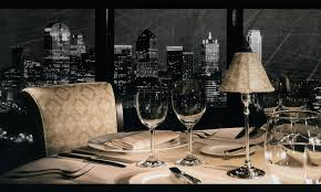 restaurant table top lighting. Dallas Skyline At The Anatole Restaurant Table Top Lighting G