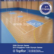 china indoor multi purpose roll vinyl pvc sports flooring for school gym basketball court