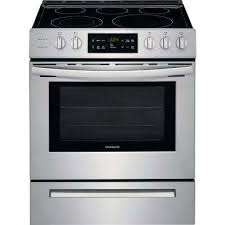 single oven electric range with self cleaning