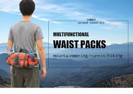 <b>Outdoor</b> Waterproof Fanny Waist Pack <b>Multifunctional Storage</b> ...