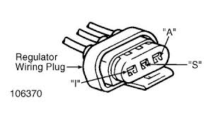 1994 ford escort alternator electrical problem 1994 ford escort 4 unplug harness connector from regulator at rear of alternator connect ohmmeter between regulator a and f terminal screws see fig 1 and fig 3