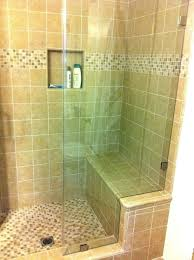 tile showers with bench tips for building a tiled shower bench seat shower with bench seat