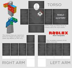 Roblox R15 Shirt Template Roblox Templates Roblox_template Twitter