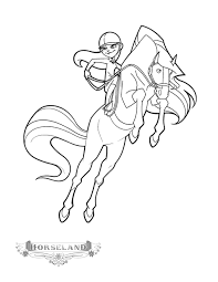 Small Picture Horseland coloring pages jimber ColoringStar