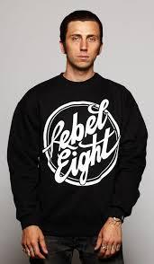 Свитшот Мужской с Принтом <b>Rebel8 Logo</b> Кофта — в Категории ...