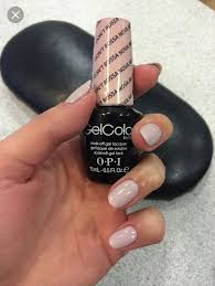 Opi Bossa Nova Gel Color Was Told To Mix With Samson