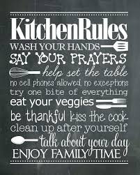 cute kitchen sayings cute kitchen chalkboard saying kitchen rules free printable gotta have this in the