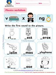 Order hard copies of our phonics. Phonics Worksheet V X Ng The Kids Worksheets