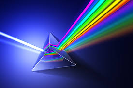 Light Through A Prism Through The Prism Below The Surface
