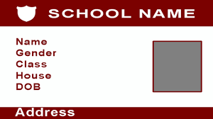 Blank School Id Template Easy Way To Create Multiple Id Cards In Few Minutes Using Photoshop With Esubs