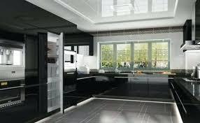 Modern black kitchen cabinets Lamp Black Modern Black Kitchen Cabinets Ideas Kitchens And Contemporary Designs In Dark Pictures Interior Design Ideas Modern Black Kitchen Cabinet