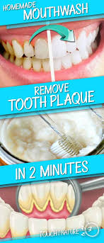 this homemade mouthwash removes tooth plaque in 2 minutes touch of the nature