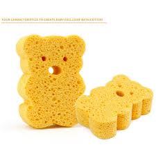 Teddy bears picnic bath towel. Baby Bath Sponge Baby Bath Foam Rub Shower Sponge Soft Cotton Scrubber Bath Brush Rubbing Shopee Singapore