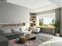 grey home office. Home Office Design Ideas For Men Fresh Green Plant Dark Grey Fiberglass Chair Wheels White Fabric Guest Ceramic Floor Tile Small S