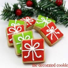 christmas present cookies.  Christmas Christmas Present Cookies On Present Cookies H