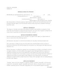 blank power of attorney full power of attorney template