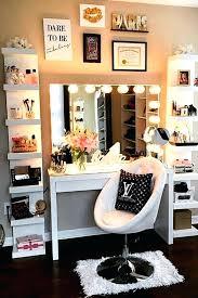 rustic makeup vanity ideas plans best round table cute easy simple wood mirror of 1
