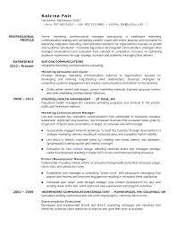 Marketing Manager Resume Communications Samples Sevte