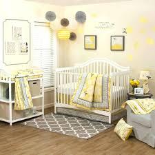 yellow and grey baby bedding elephant nursery uk sets