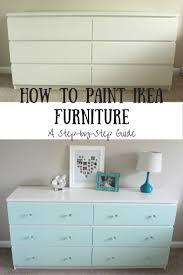 Painting Furniture Best 25 Paint Ikea Furniture Ideas On Pinterest Ikea Paint