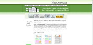 Microsoft Office Word Resume Templates For Study L Myenvoc
