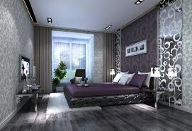 Purple And Gray Bedroom Awesome Wall Paper Bedrooms 2 Purple And Gray Bedroom Ideas