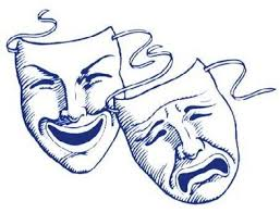 Image result for comedy tragedy masks