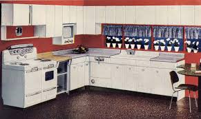 famed industrial designer raymond loewy designed the american brand of kitchen cabinets shown above along with all the appliances to with it i believe
