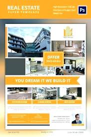 House For Rent Flyer Template Word Free Word Real Estate Flyer Template Europahaber Com