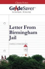 Letter From Birmingham Jail Essay Questions Gradesaver