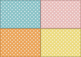 Baby Patterns Magnificent Baby Polka Dots Patterns Free Vector Download Free Vector Art